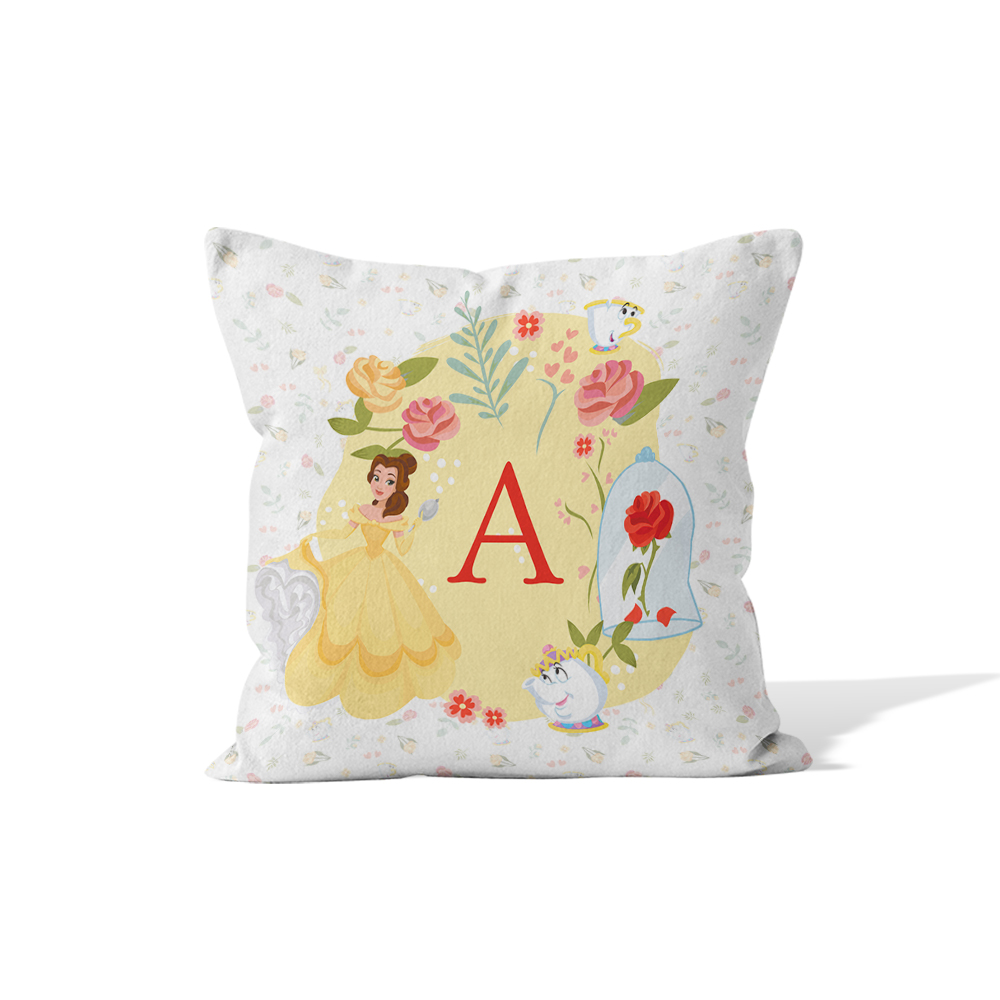Disney Princess Belle Initial Cushion