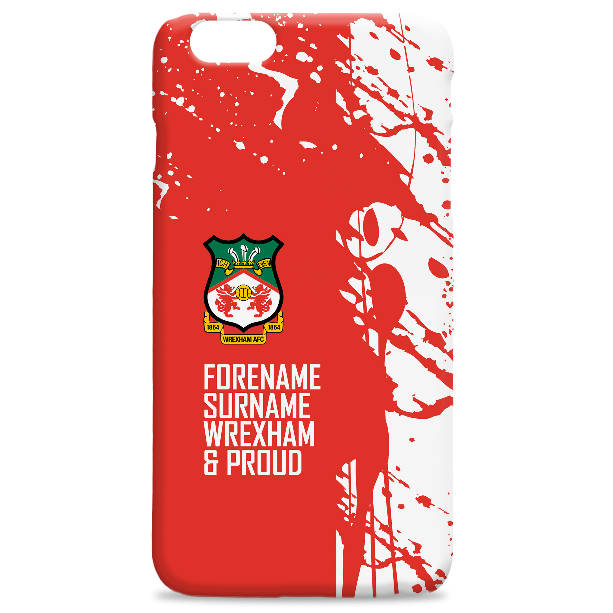 Wrexham AFC Proud Hard Back Phone Case