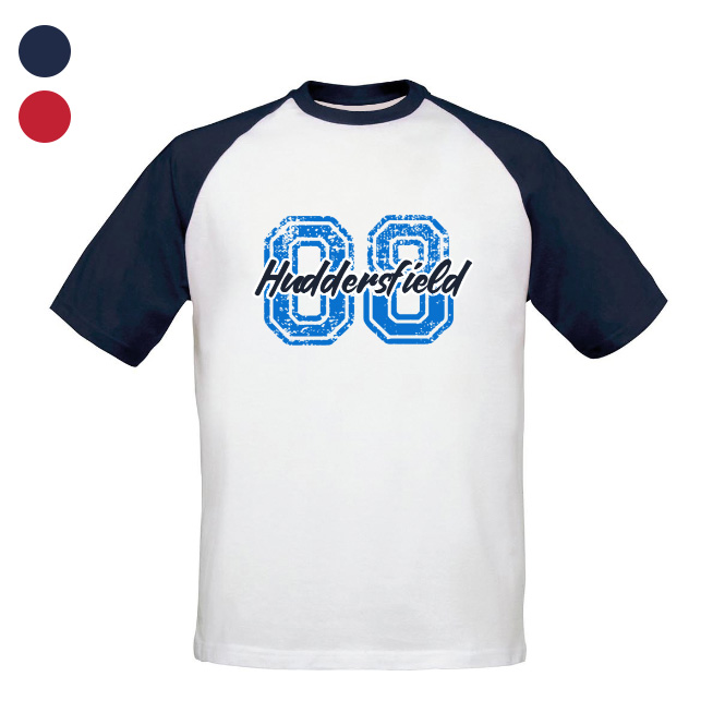 Huddersfield Town Varsity Number Baseball T-Shirt