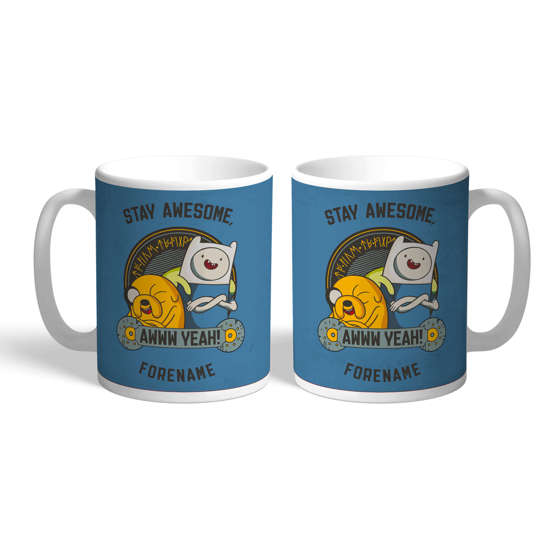 Adventure Time Stay Awesome Mug
