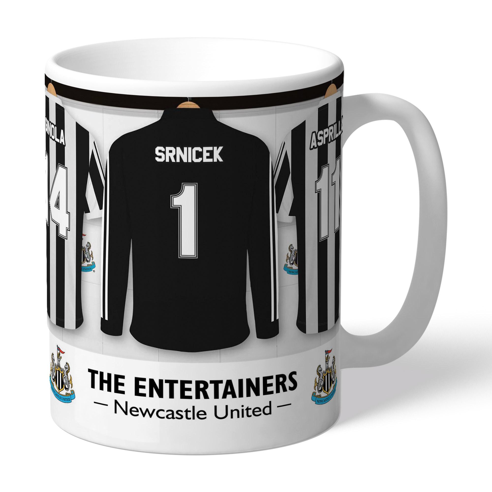 Newcastle United FC 'The Entertainers' Dressing Room Mug