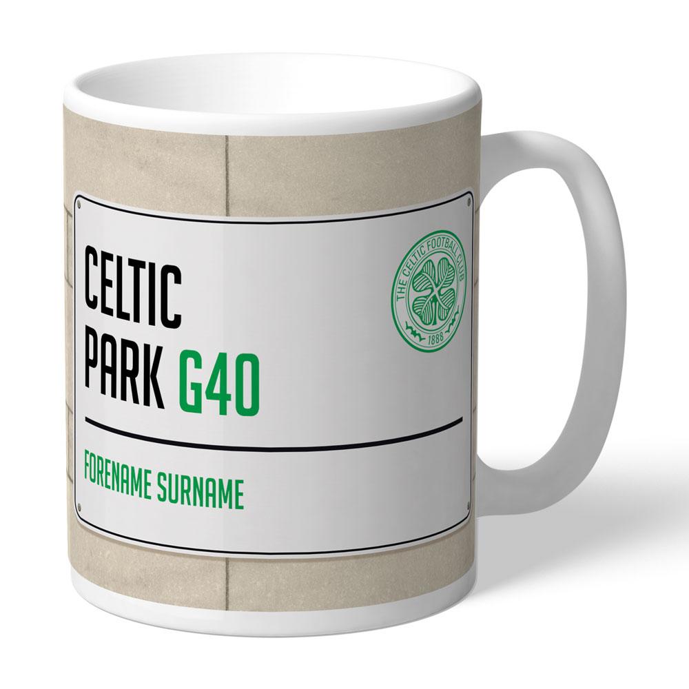 Celtic FC Street Sign Mug