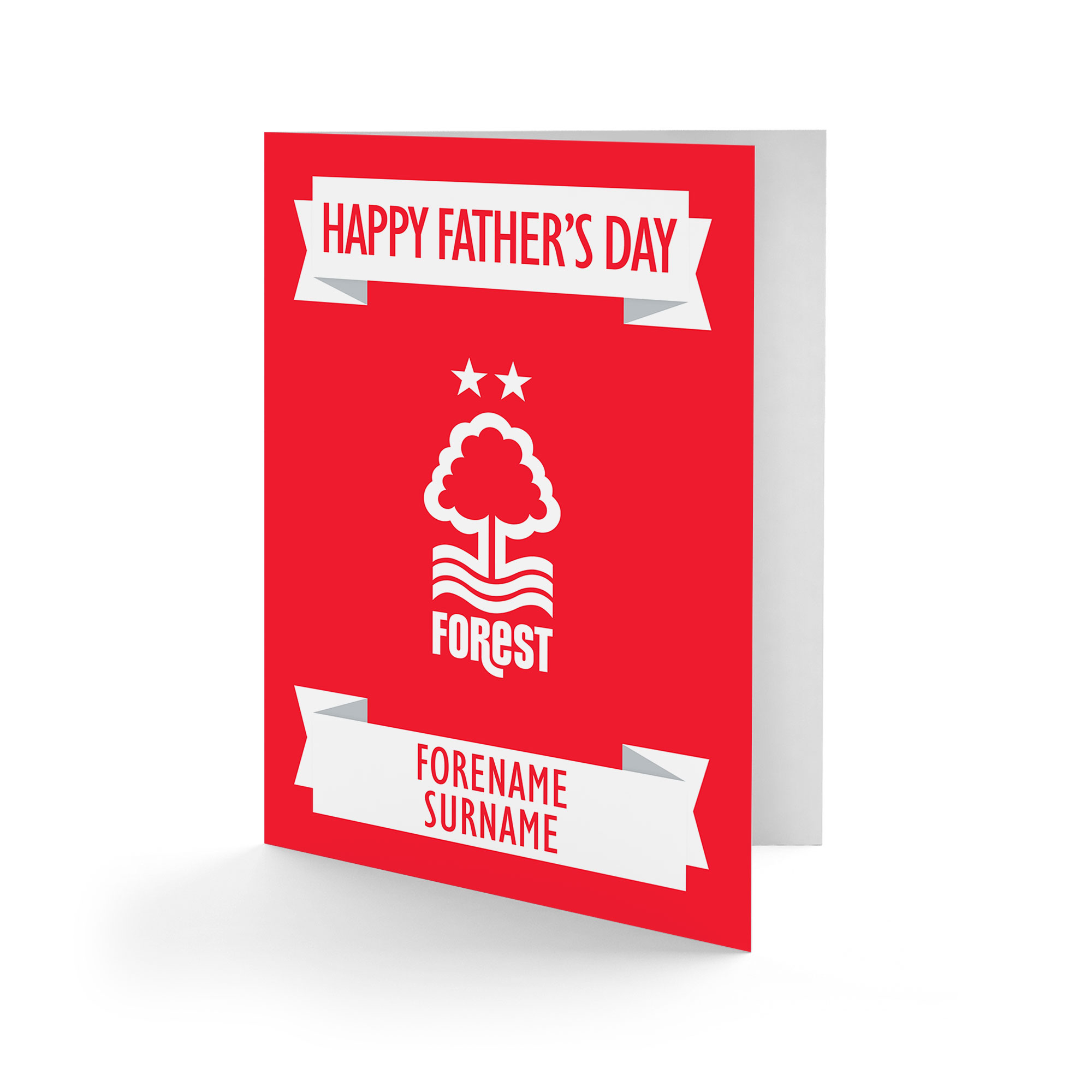 Nottingham Forest FC Crest Father's Day Card