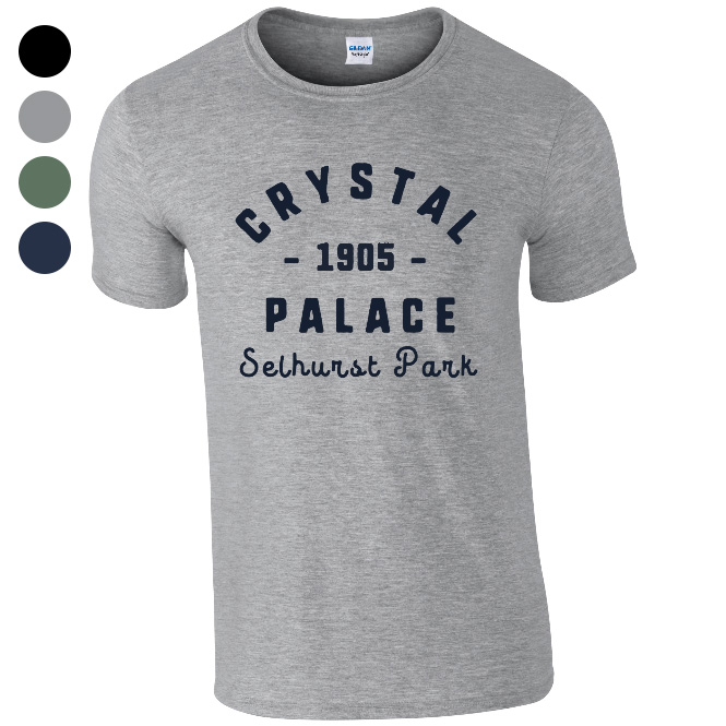 Crystal Palace FC Stadium Vintage T-Shirt
