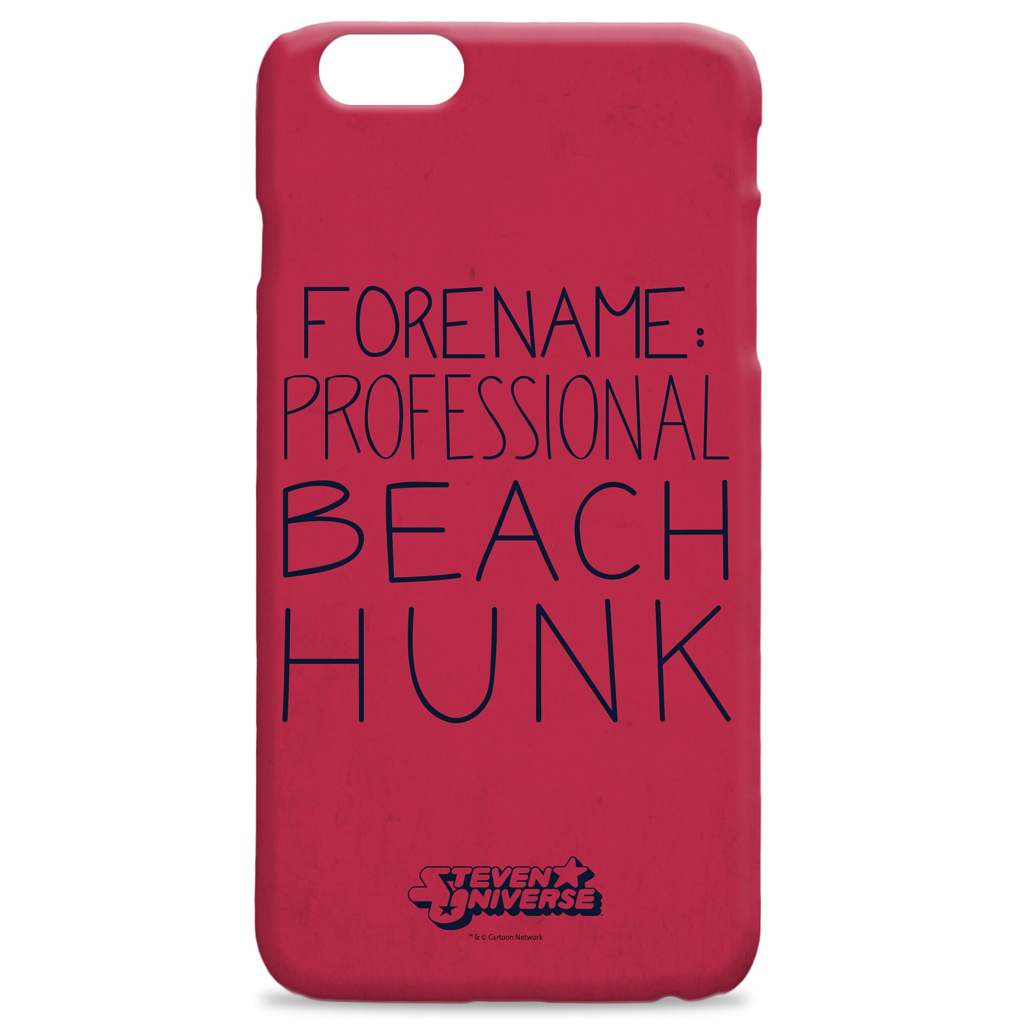 Steven Universe Beach Hunk iPhone Case
