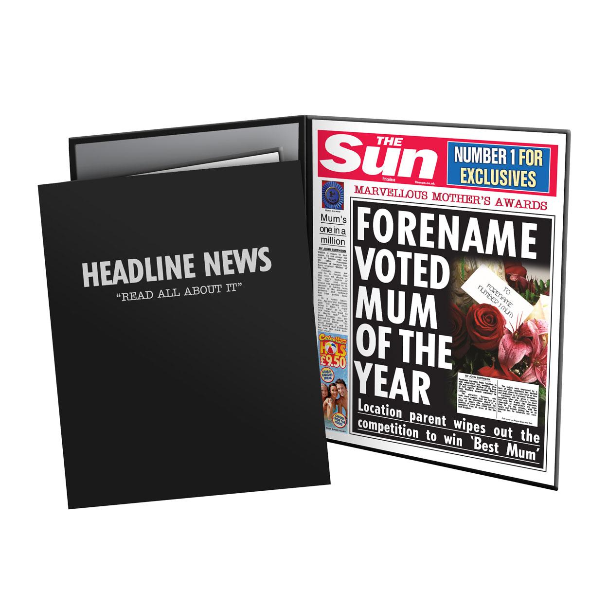 The Sun Best Mum News Folder