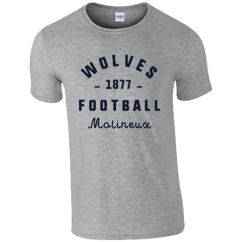 Wolves Stadium Vintage T-Shirt