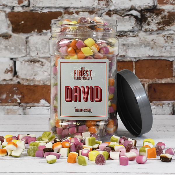 Dolly Mixtures Sweet Jar