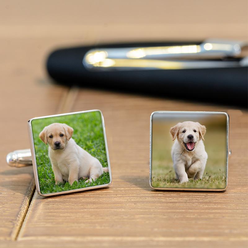 Dog Photo Cufflinks