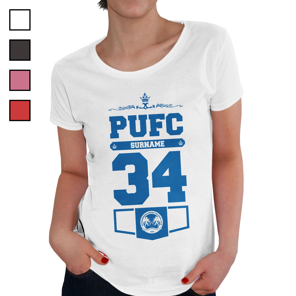 Peterborough United FC Ladies Club T-Shirt