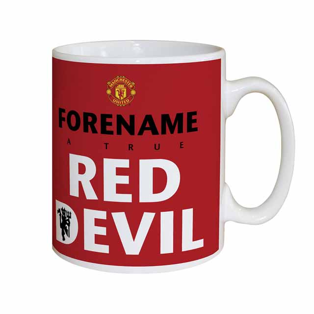 Manchester United FC Red Devil Mug