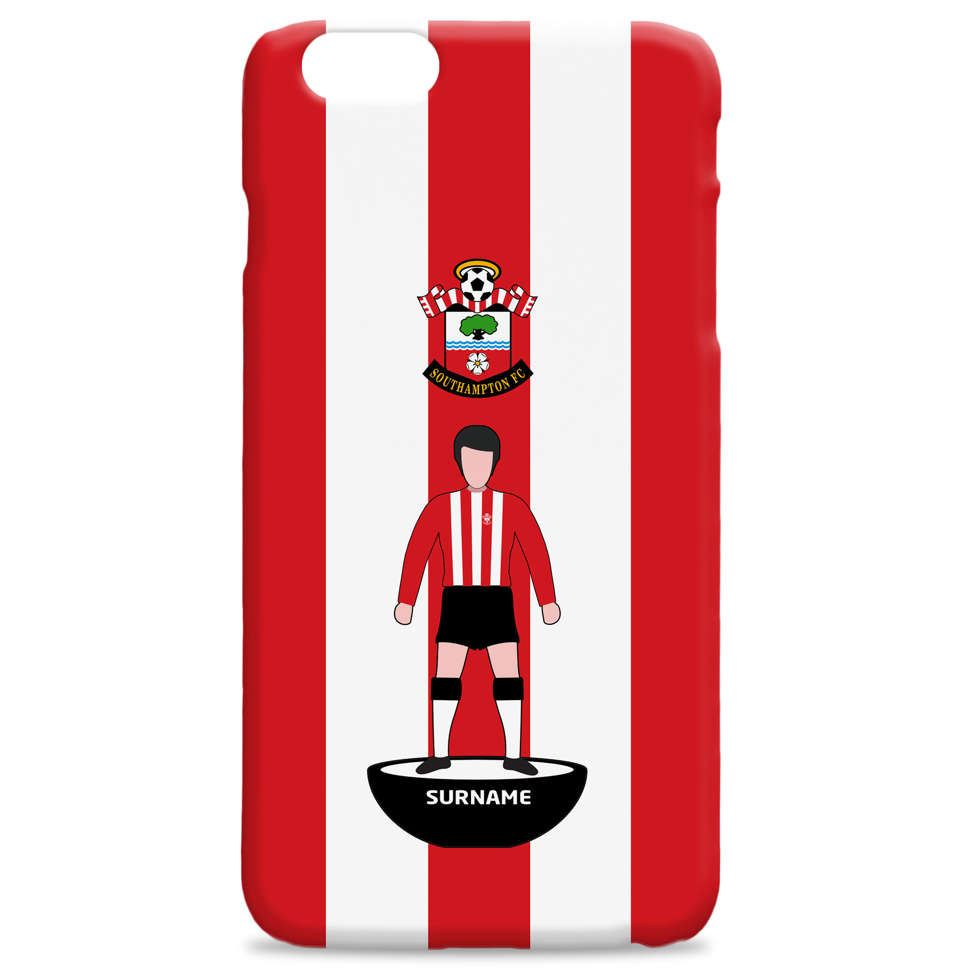 Southampton FC Player Figure Hard Back Phone Case