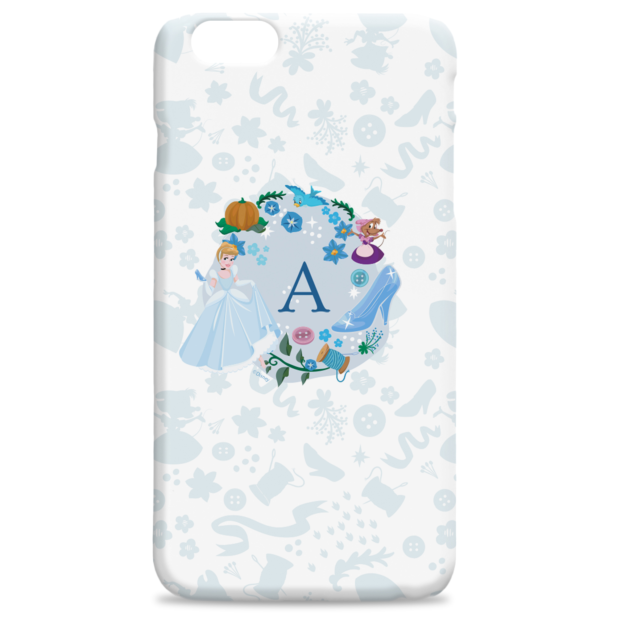 Disney Princess Cinderella Initial Phone Case