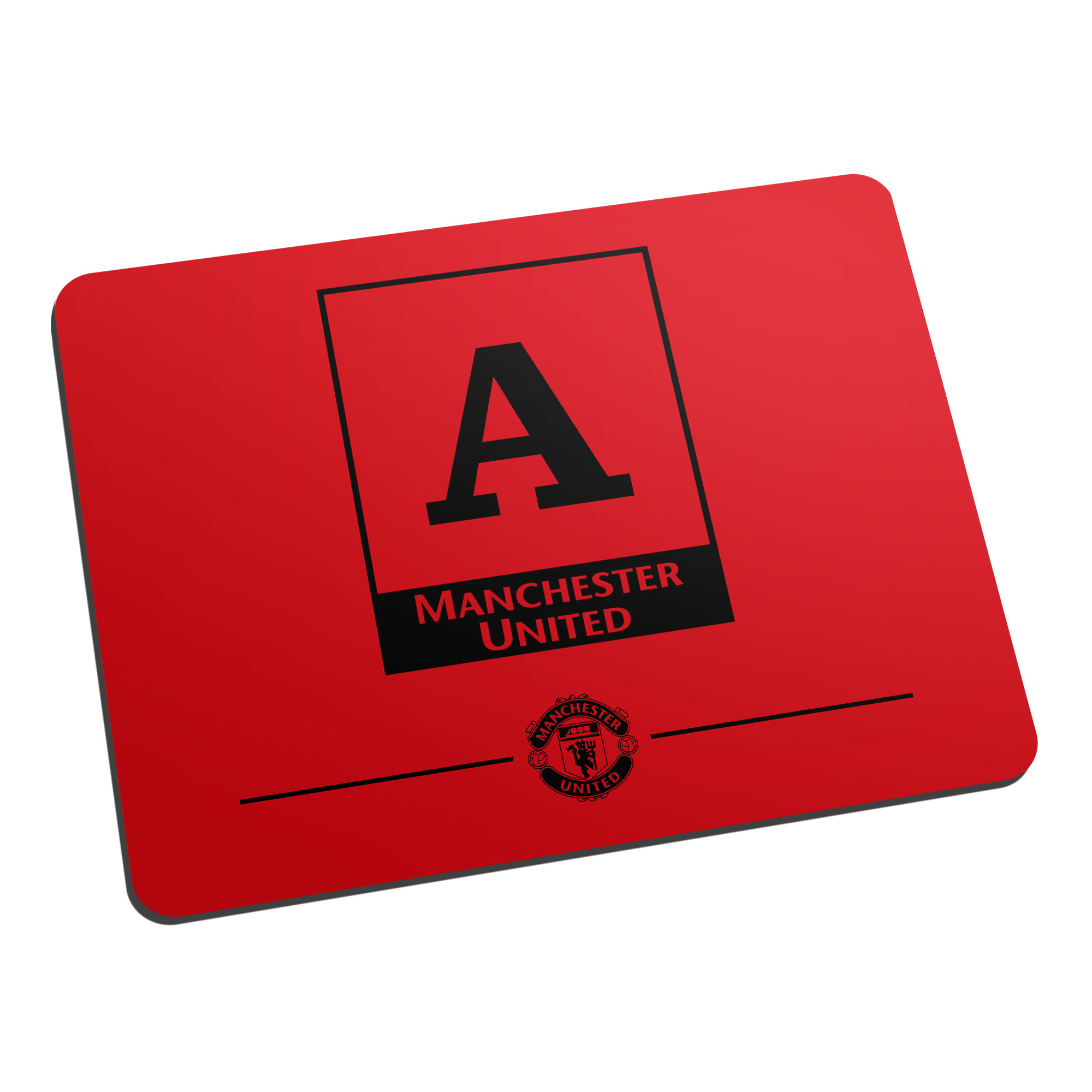 Manchester United FC Monogram Mouse Mat