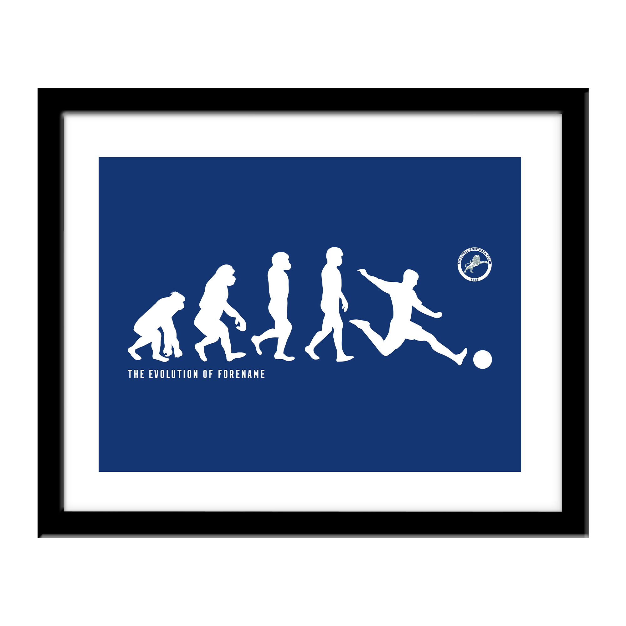 Millwall Evolution Print