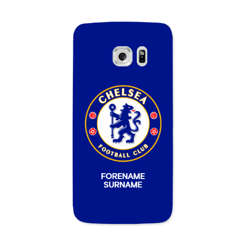 Chelsea FC Bold Crest Samsung Galaxy S7 Edge Phone Case