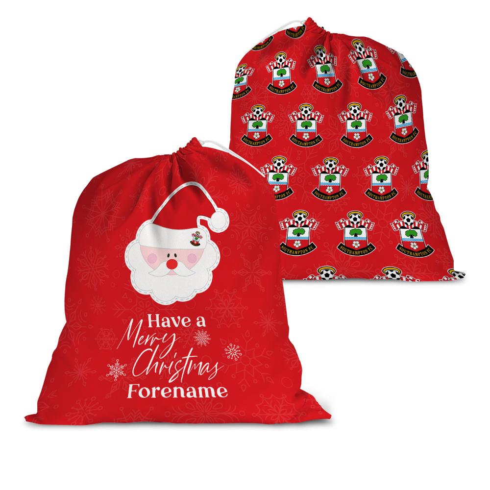 Southampton FC Merry Christmas Santa Sack