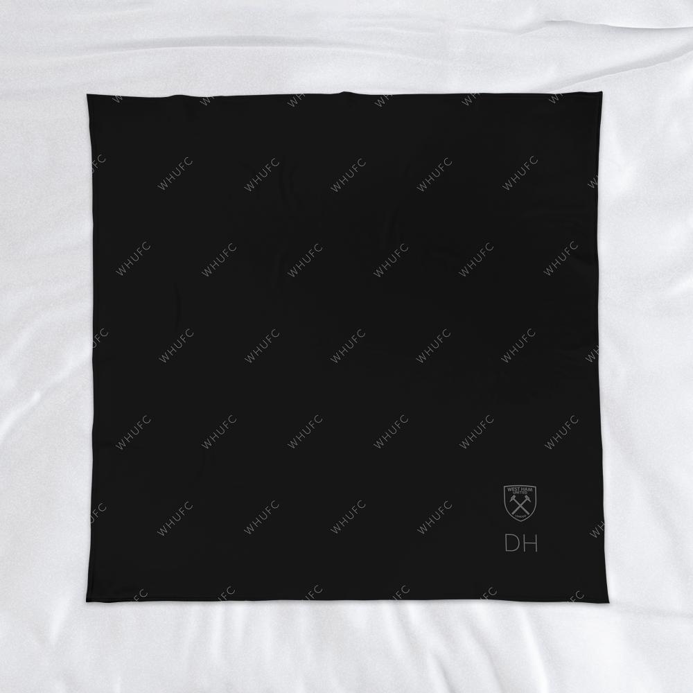 West Ham United FC Pattern Fleece Blanket