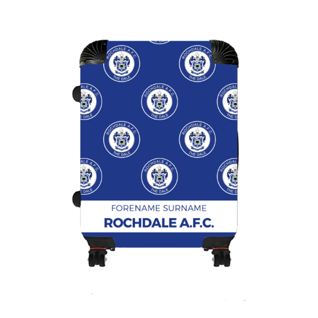 Rochdale AFC Mini Crest Medium Suitcase