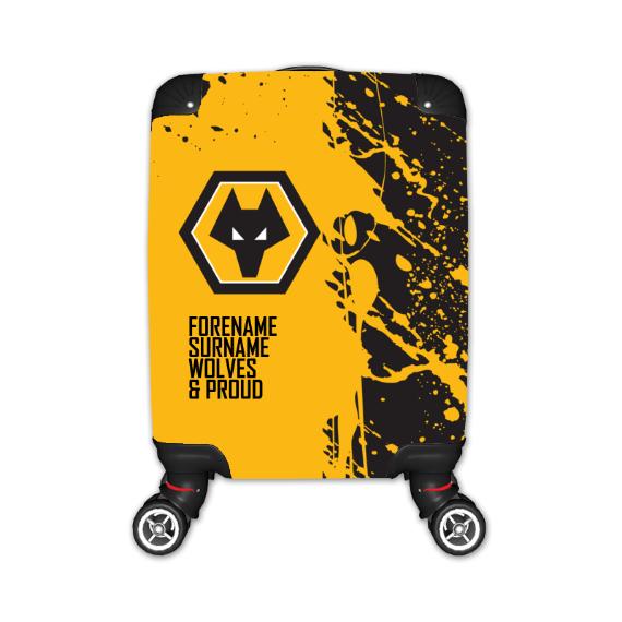 Wolverhampton Wanderers FC Proud Kid's Suitcase