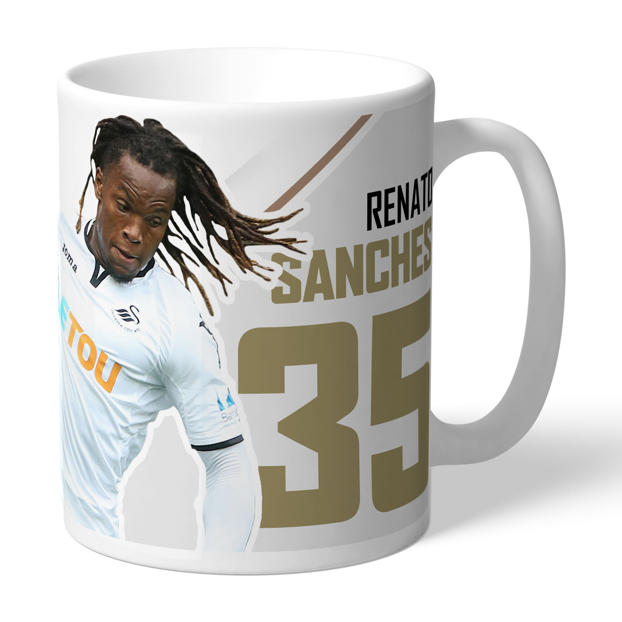 Swansea City AFC Sanches Autograph Mug
