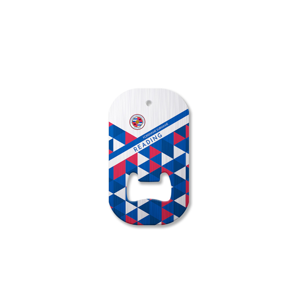 Reading FC Patterned Compact Bottle Opener