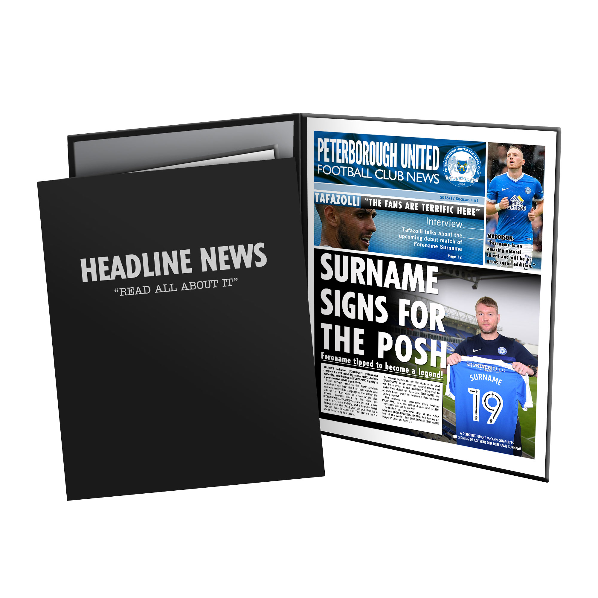 Peterborough United FC News Folder