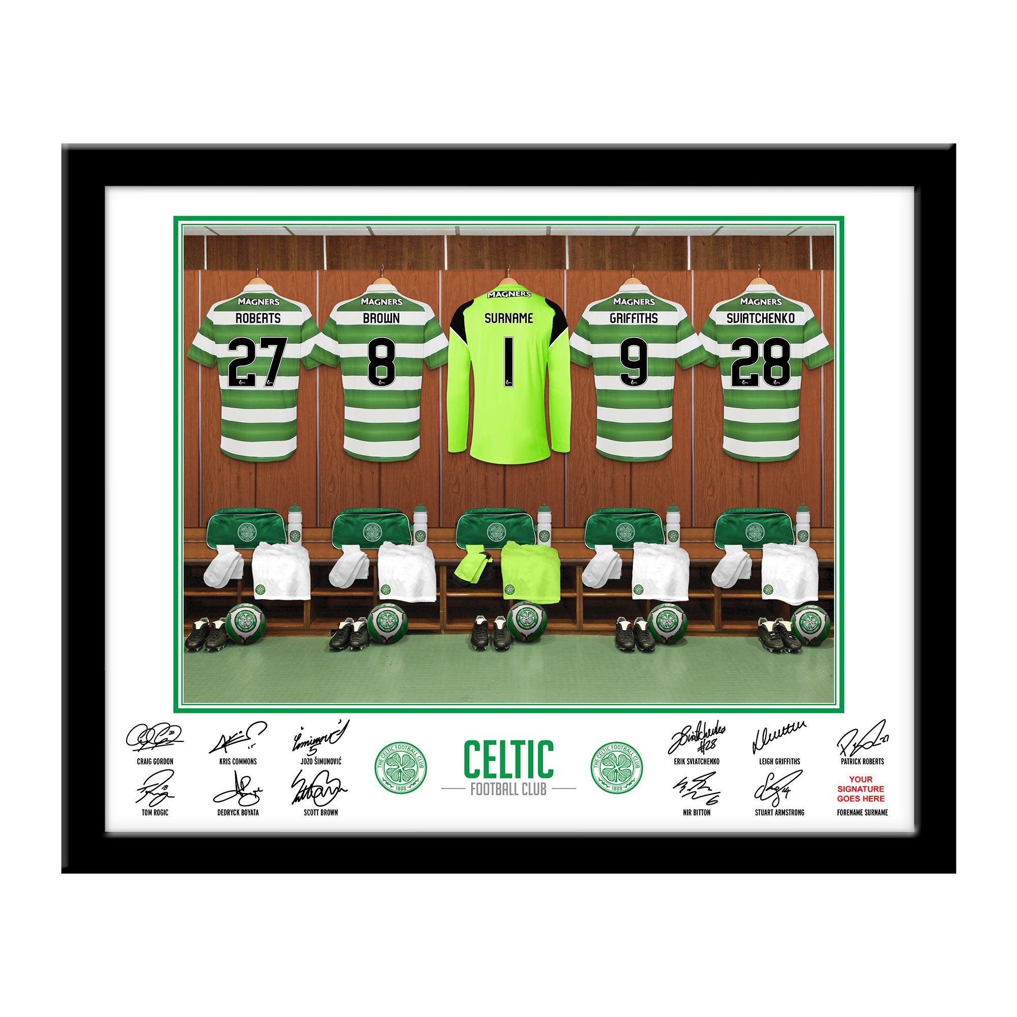 CFC Goalkeeper Dressing Room Framed Print