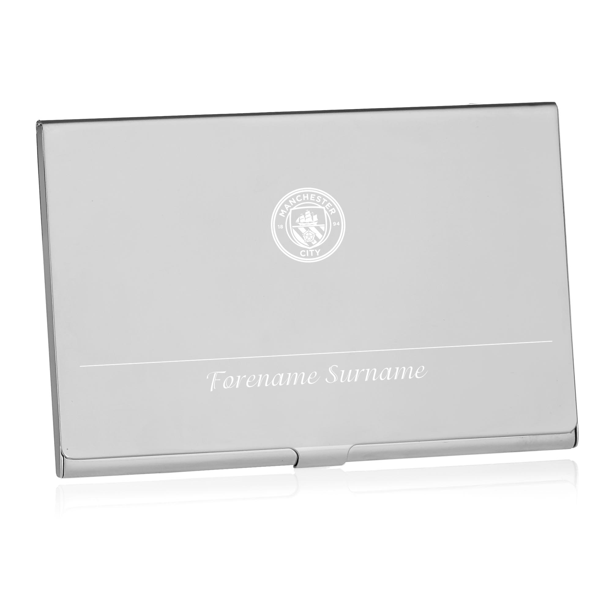Manchester City FC Executive Business Card Holder