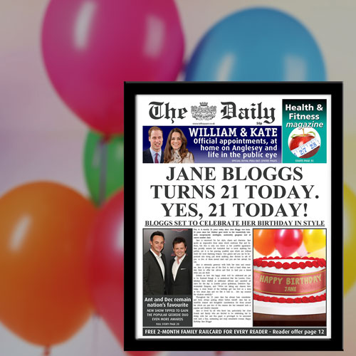 The Daily Birthday News