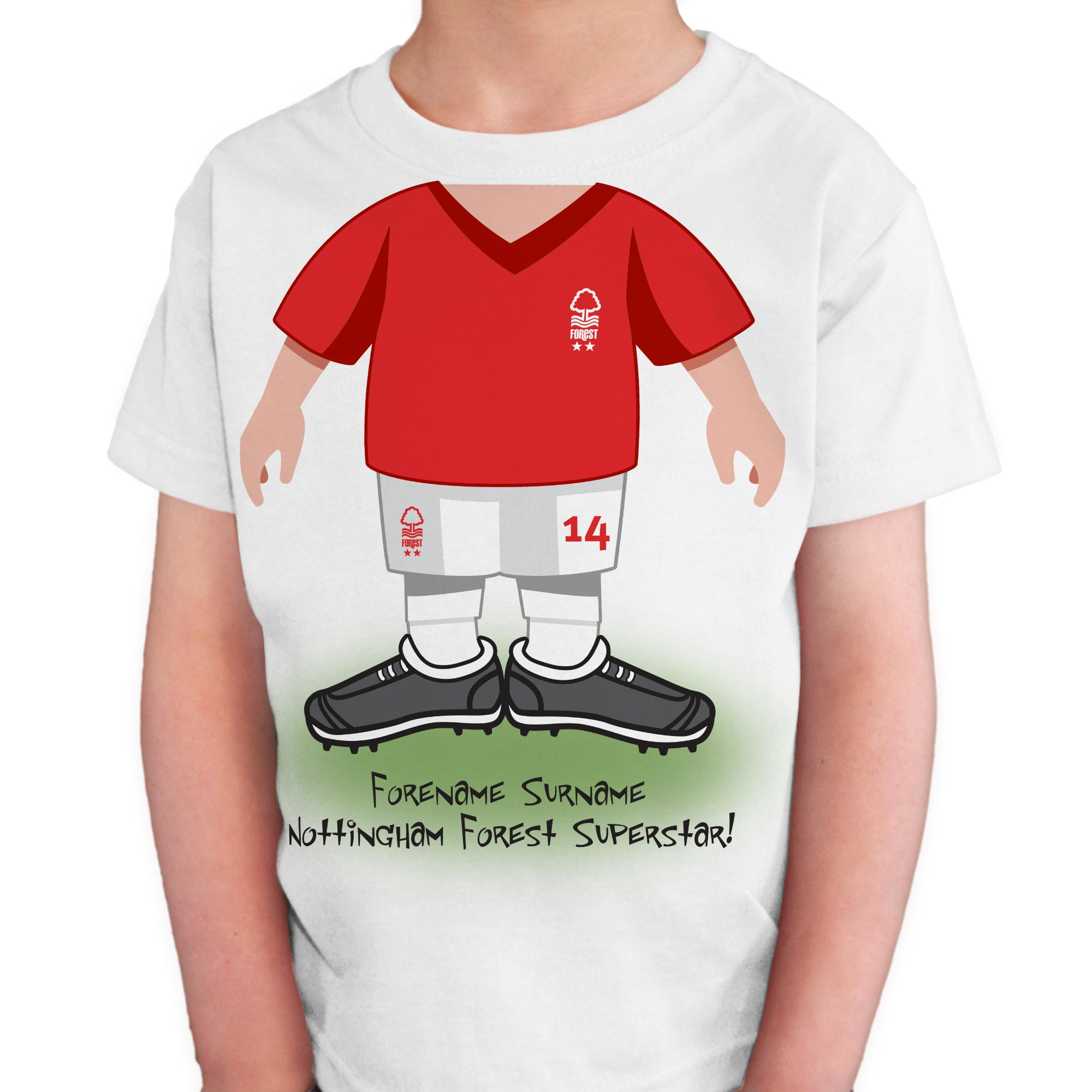 Nottingham Forest FC Kids Use Your Head T-Shirt