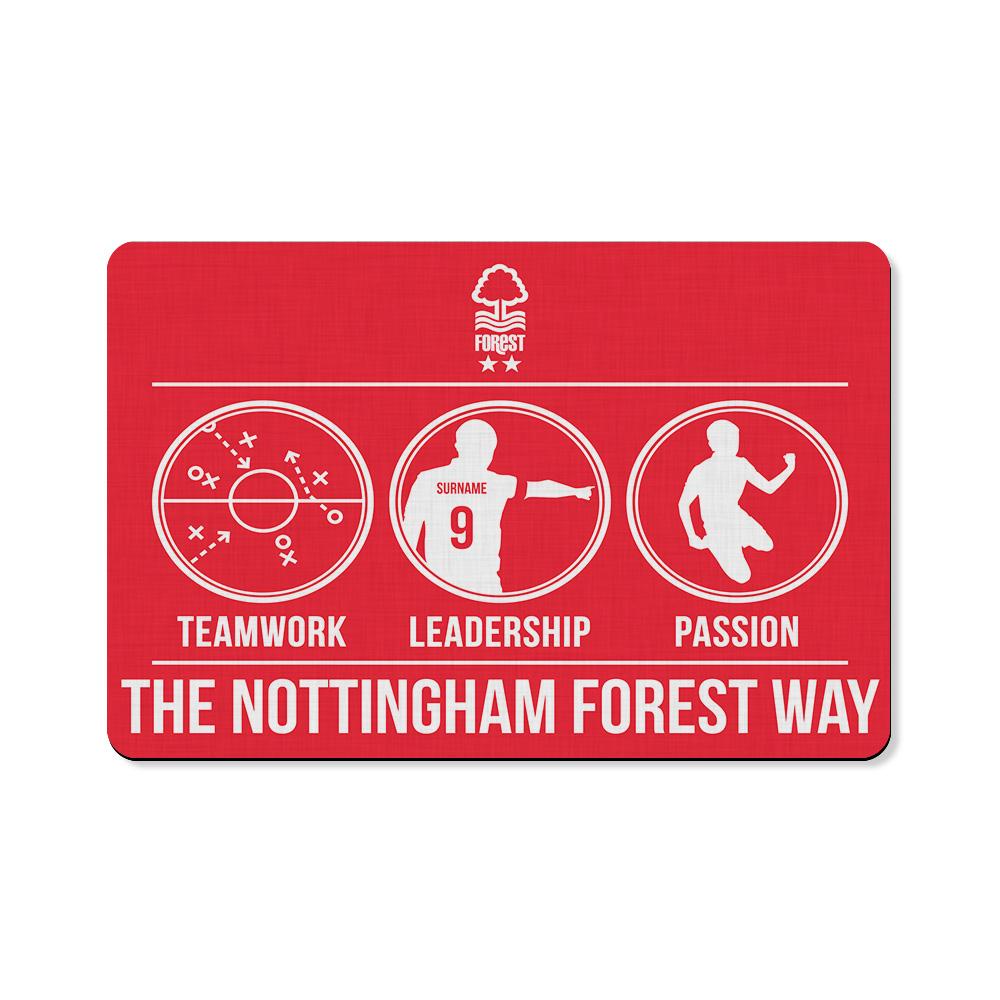 Nottingham Forest FC Way Floor Mat