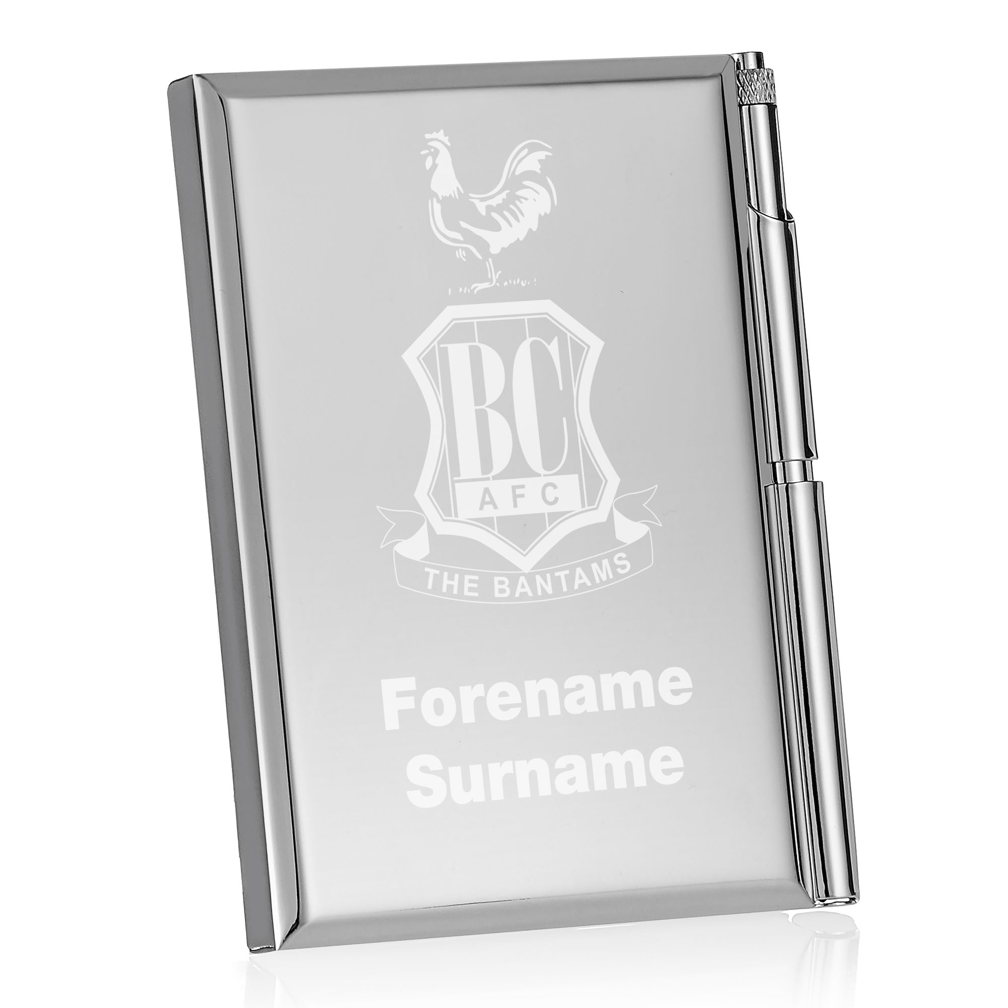 Bradford City AFC Crest Address Book