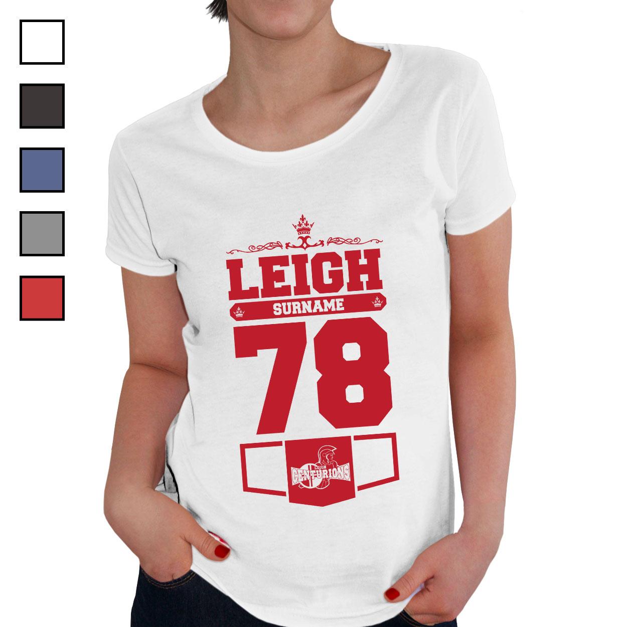 Leigh Centurions Ladies Club T-Shirt