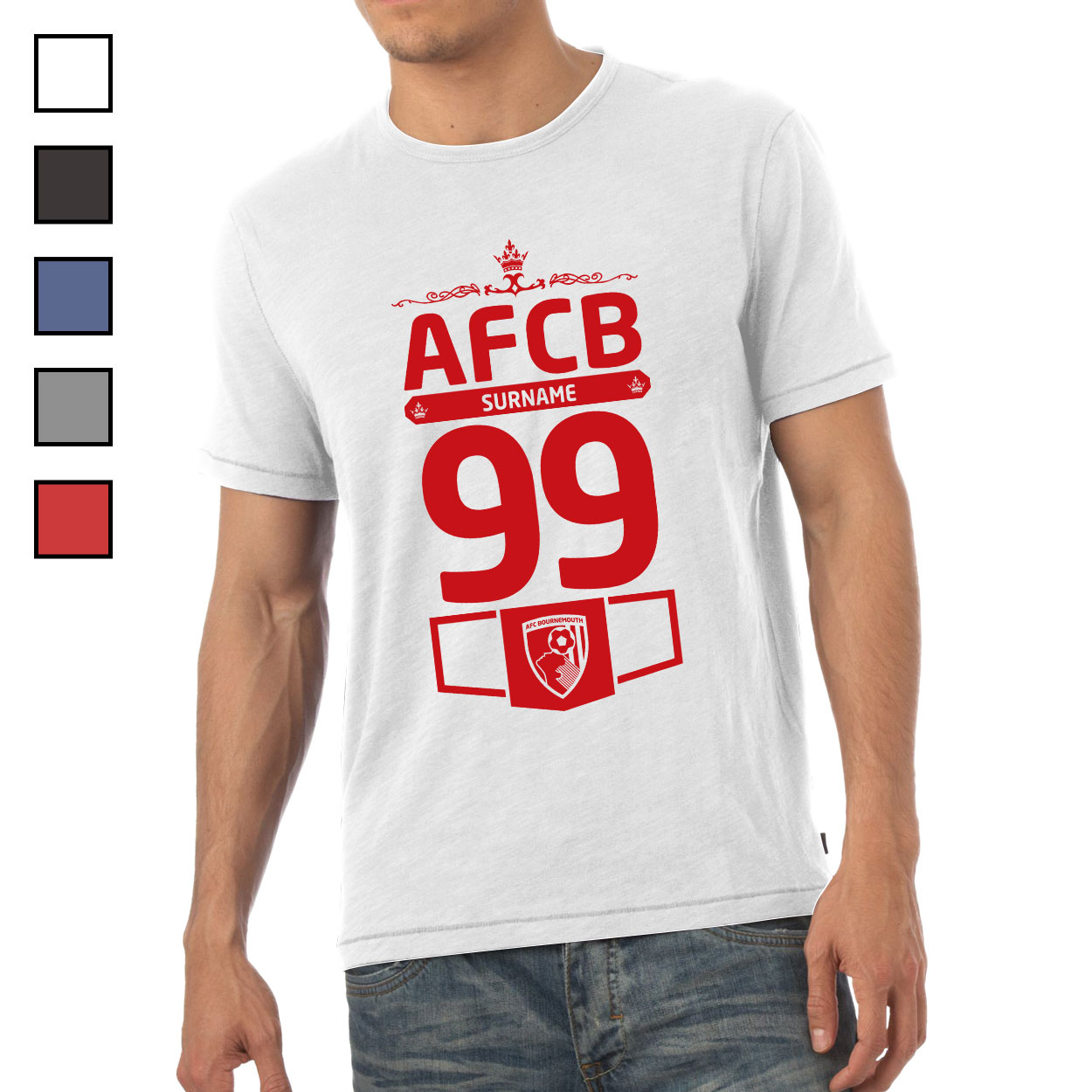 AFC Bournemouth Mens Club T-Shirt