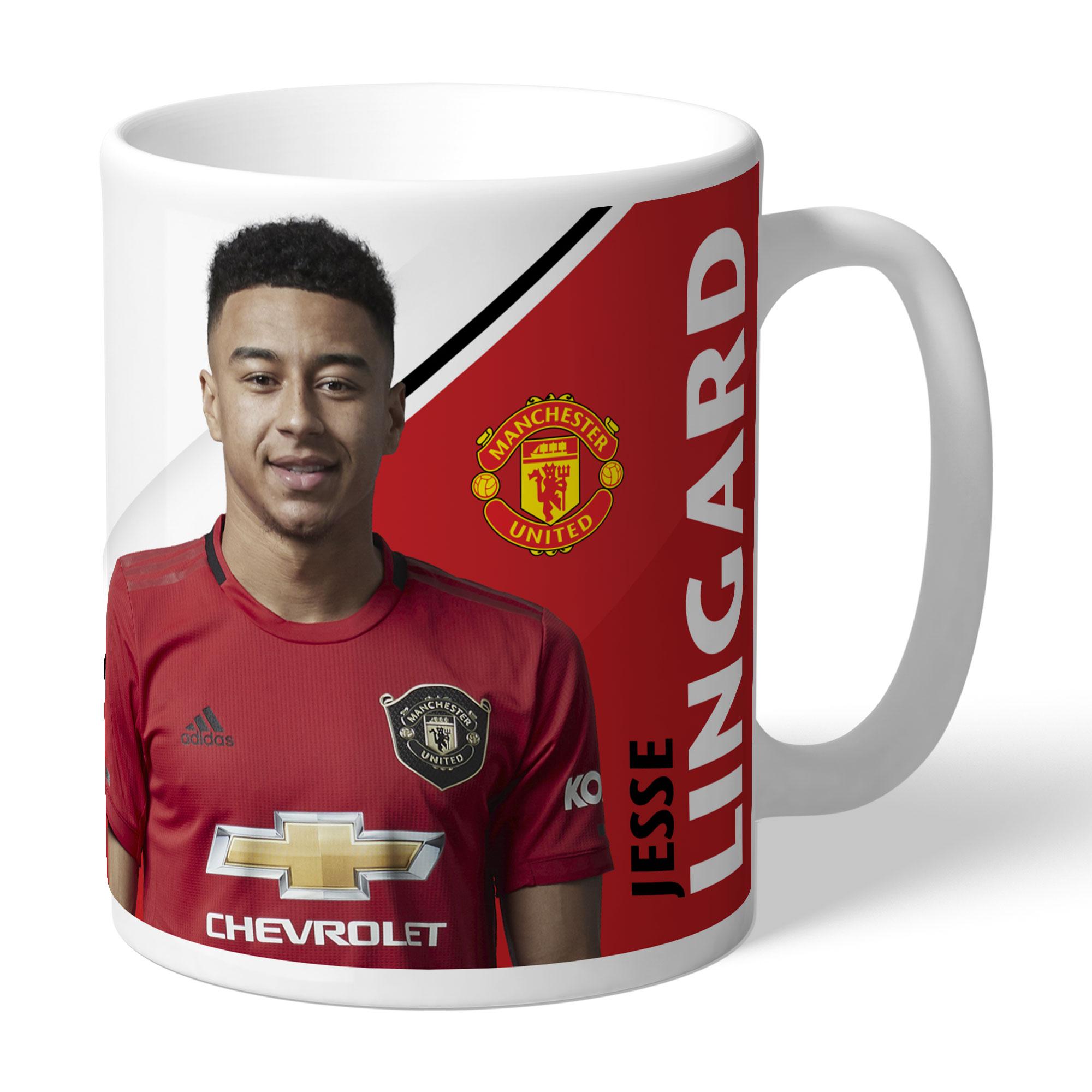 Manchester United FC Lingard Autograph Mug