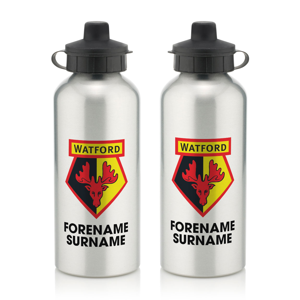 Watford FC Bold Crest Water Bottle