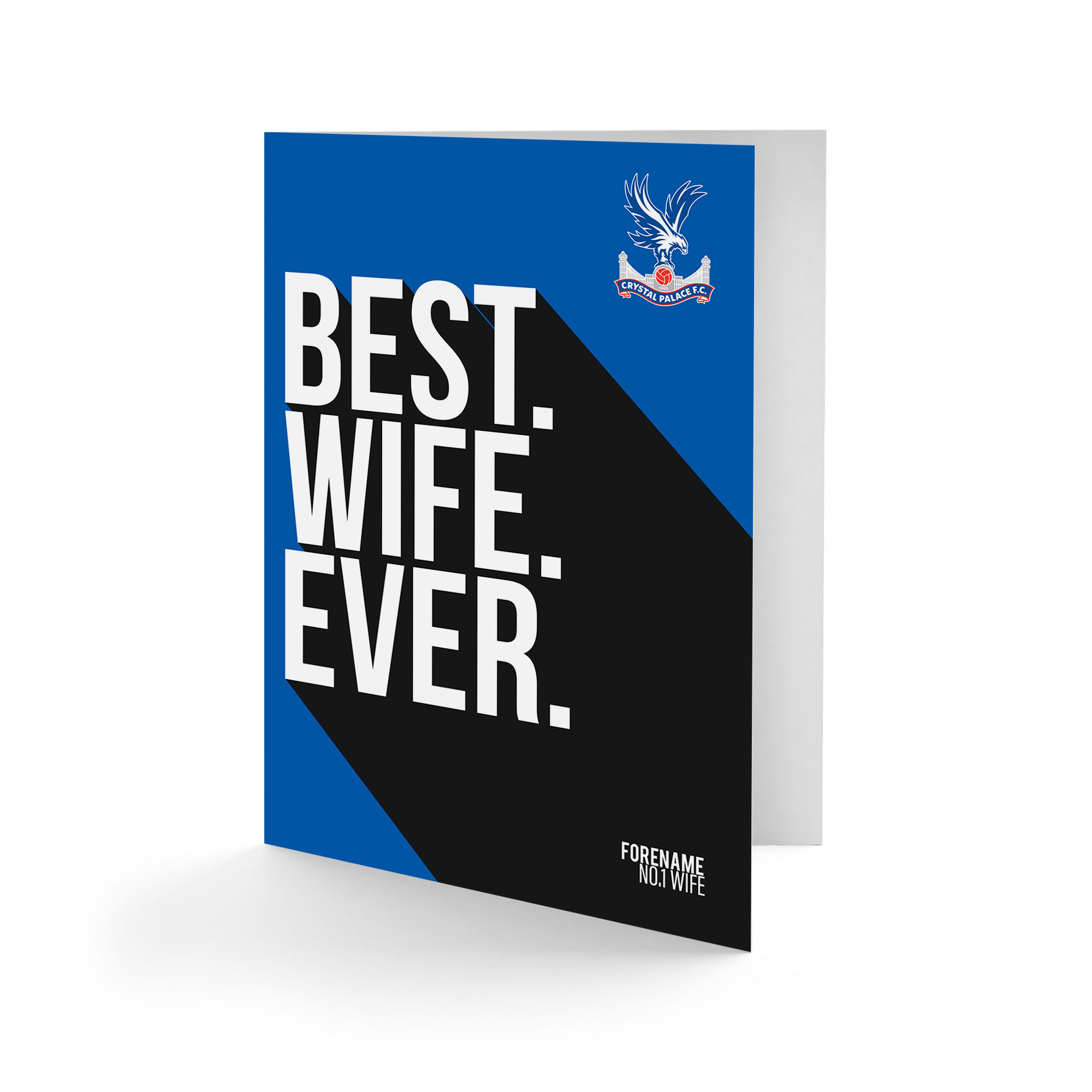 Crystal Palace FC Best Wife Ever Card