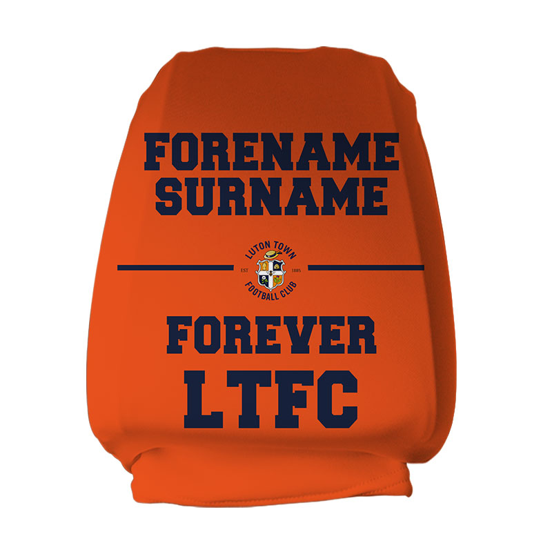 Luton Town FC Forever Headrest Cover