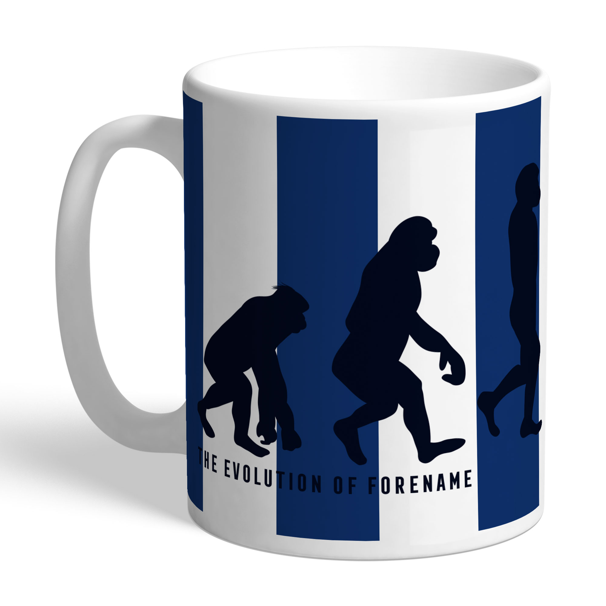 West Bromwich Albion FC Evolution Mug