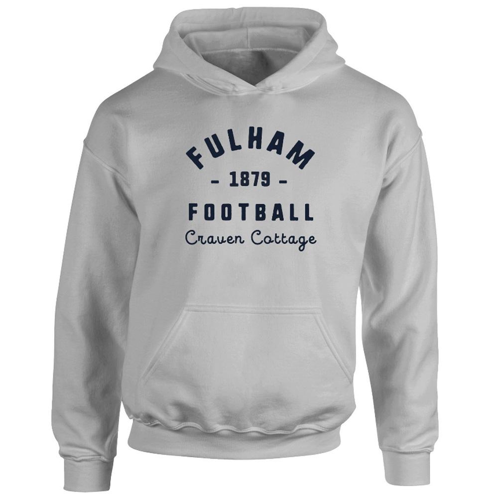 Fulham FC Stadium Vintage Hoodie