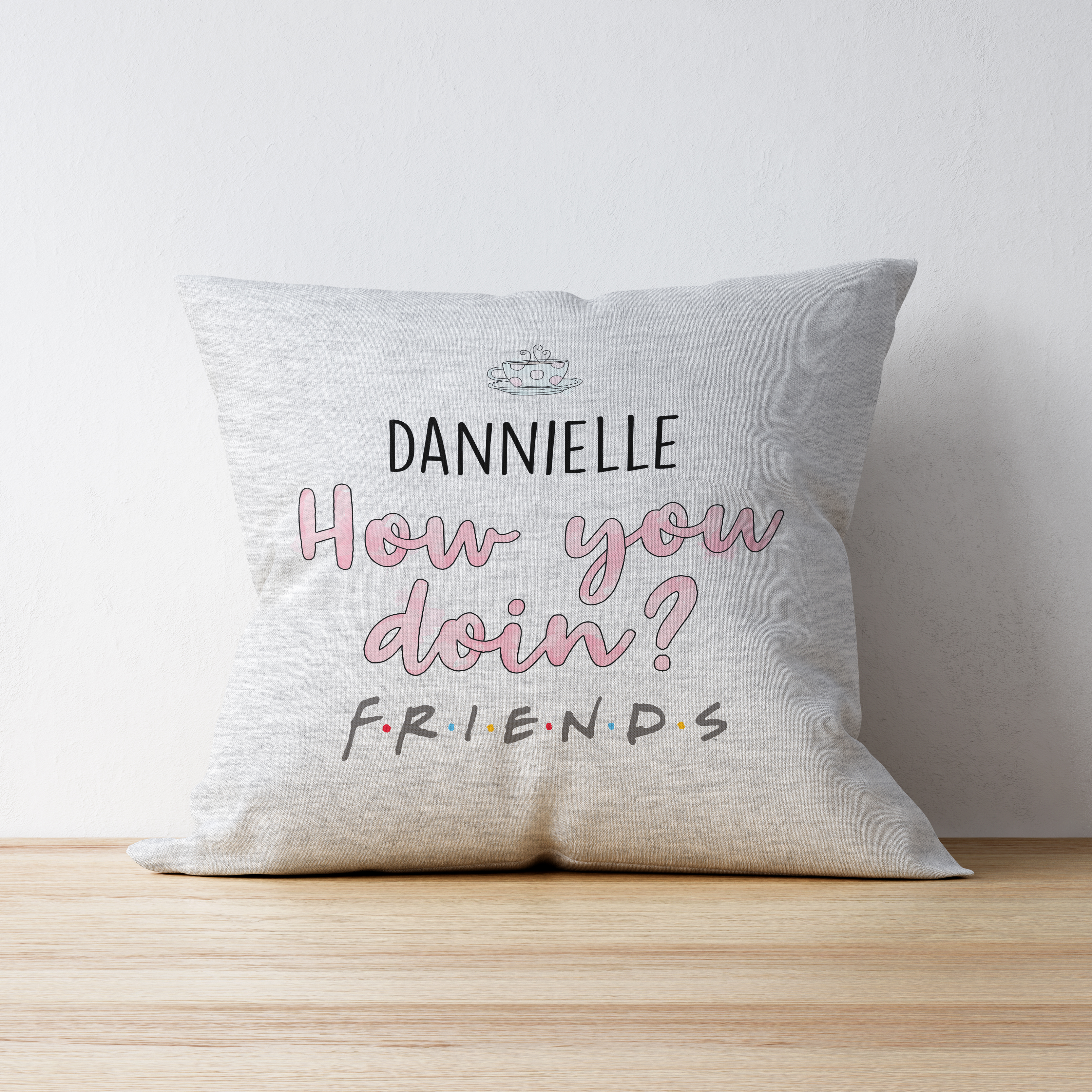Friends™ How You Doin' Personalised Cushion
