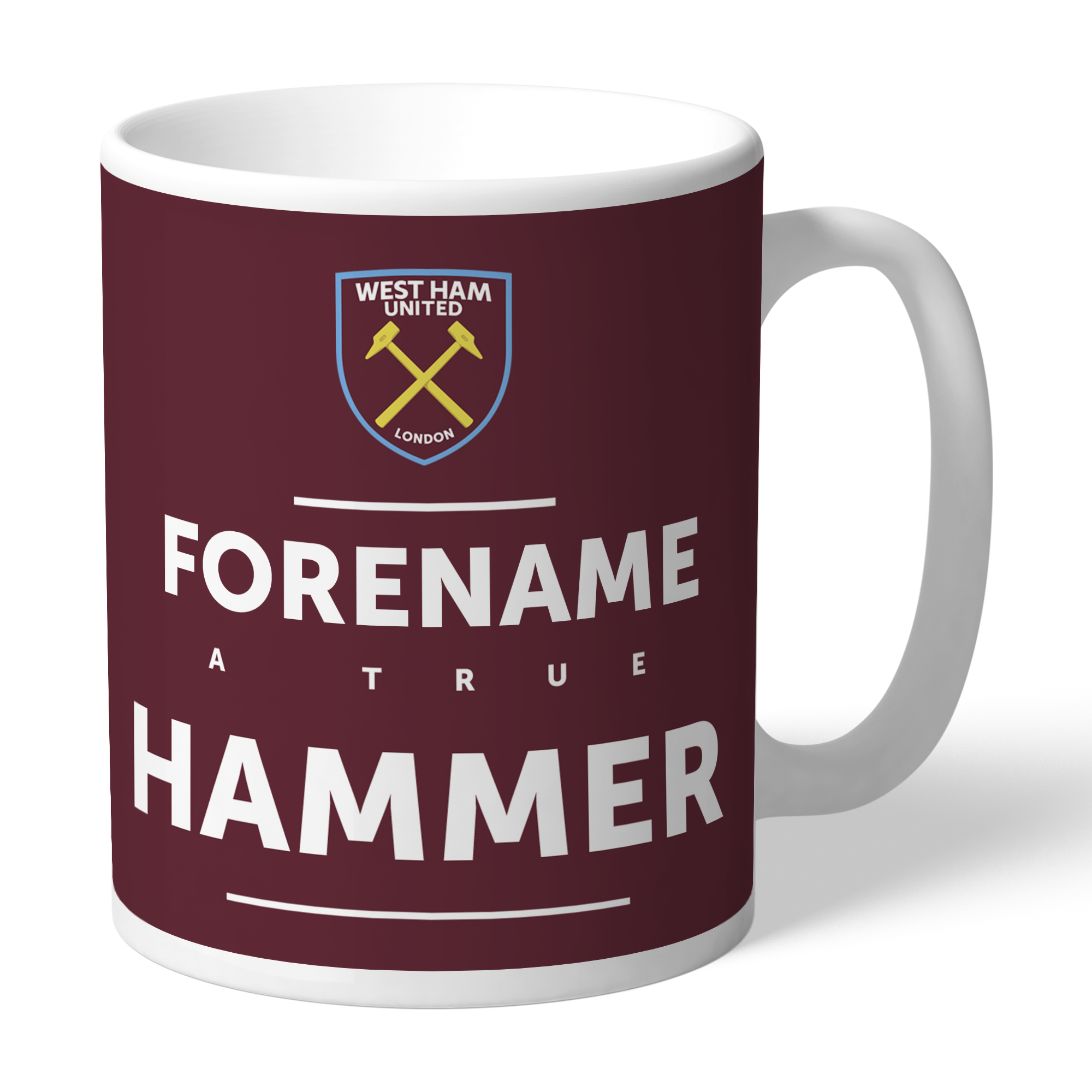 West Ham United FC True Mug