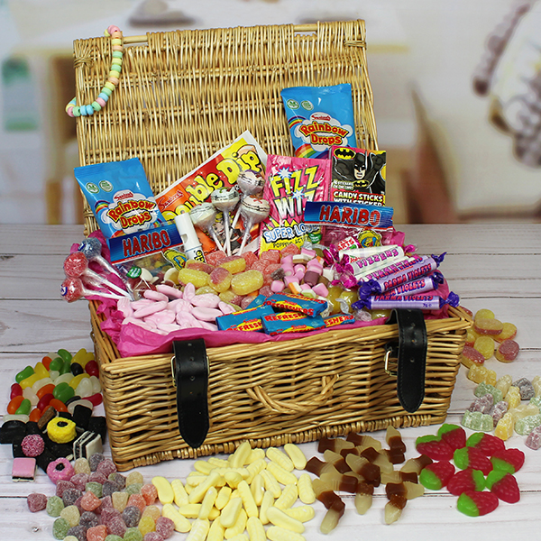 Personalised Retro Sweet Hamper