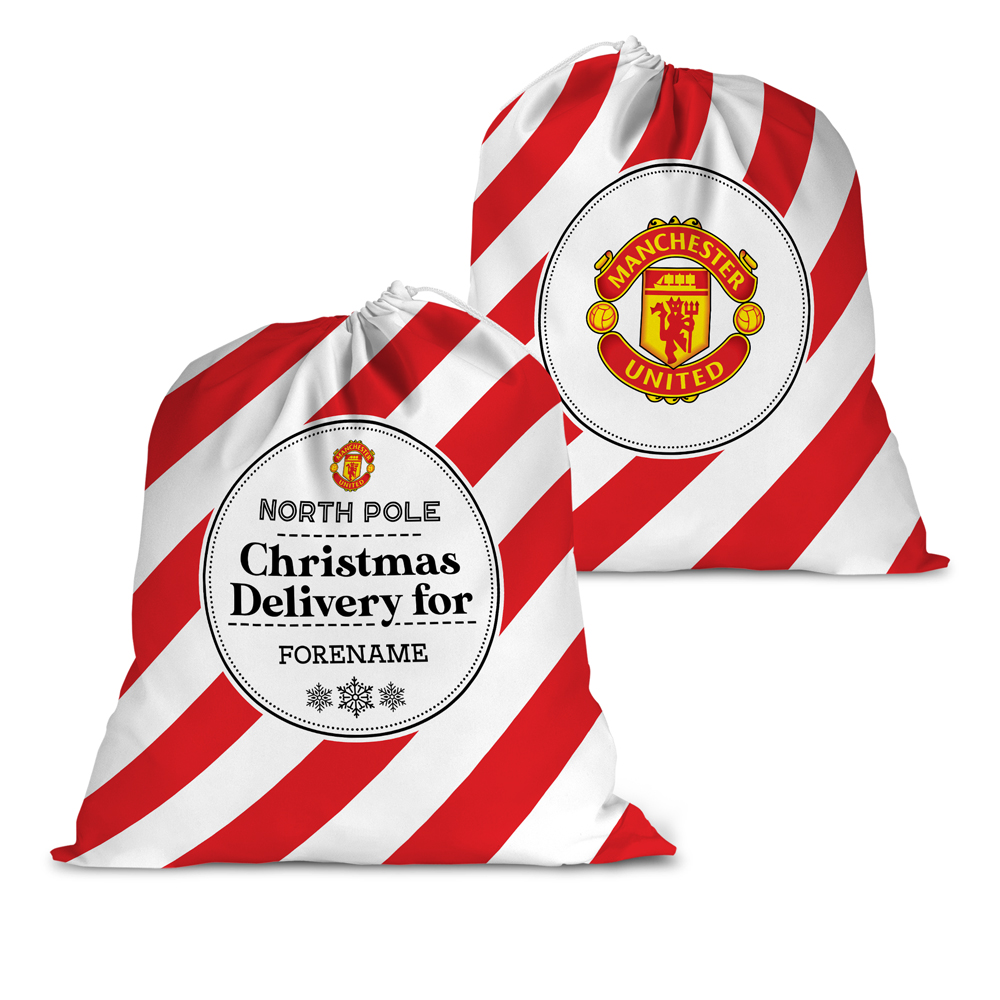 Manchester United FC Christmas Delivery Santa Sack