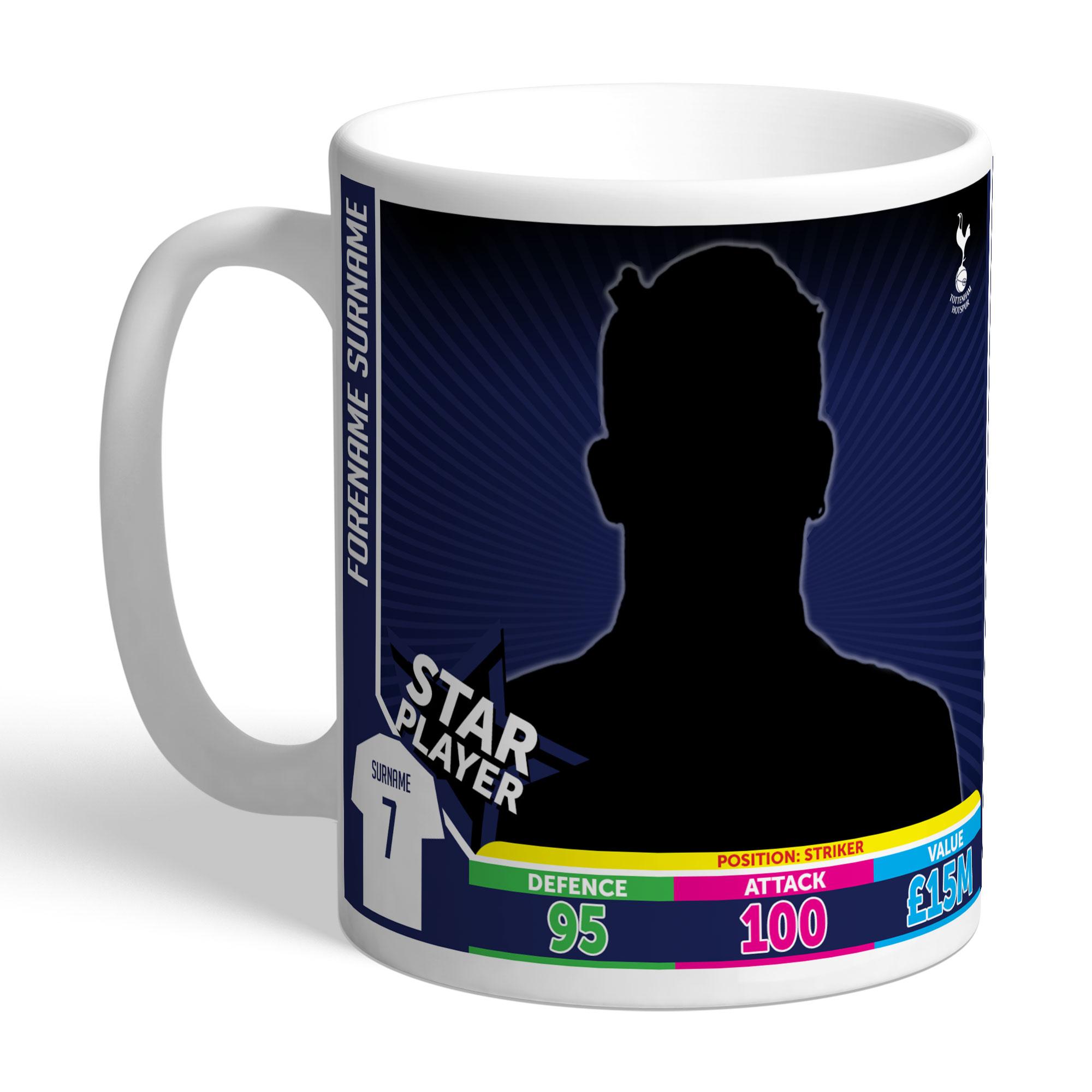 Tottenham Hotspur Trading Card Mug