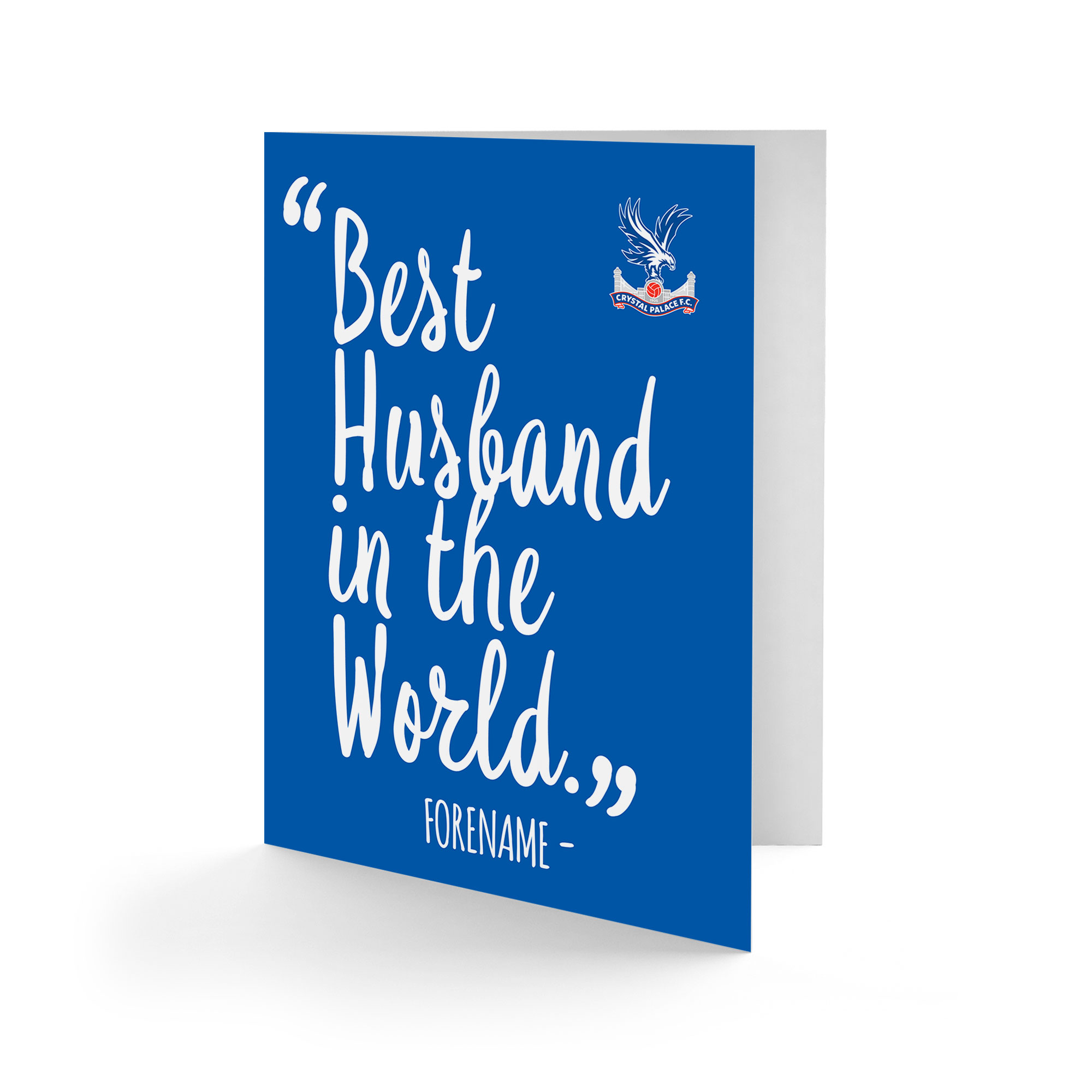 Crystal Palace FC Best Husband In The World Card