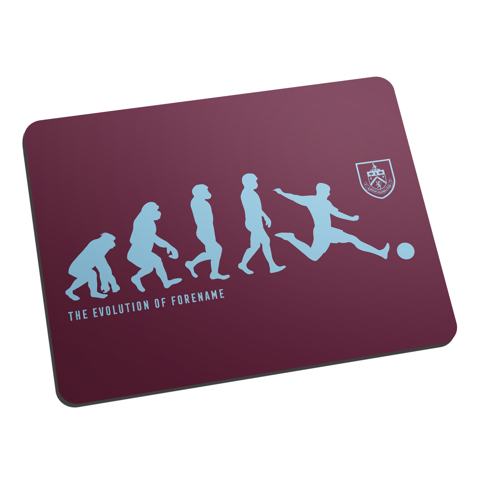 Burnley FC Evolution Mouse Mat