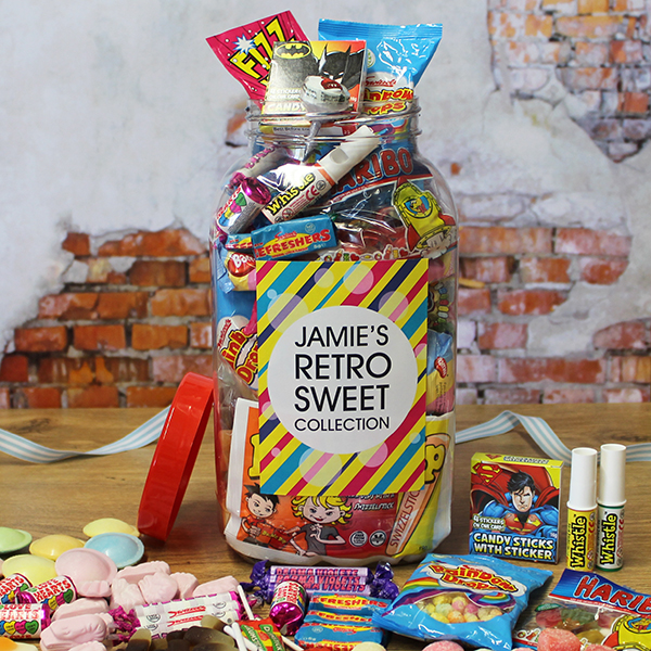 Giant Retro Sweet Jar