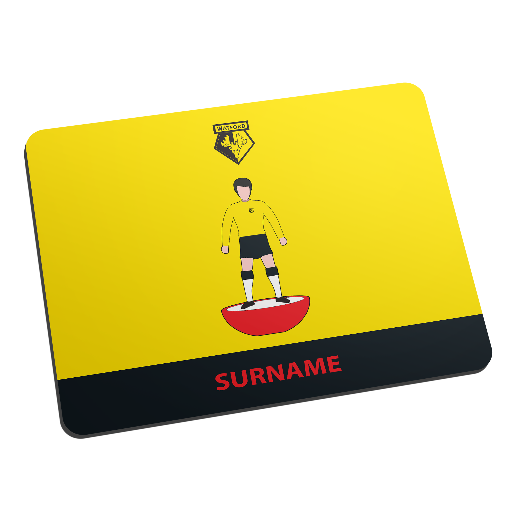 Watford FC Player Figure Mouse Mat